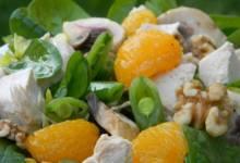 turkey and citrus salad