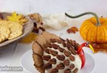 Turkey Cheese Ball for Thanksgiving