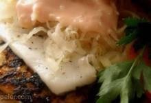 Turkey Reuben Burgers