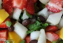 Two-Bean and Mango Salad