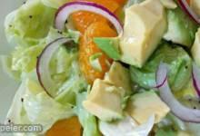 Unique Fruity Green Salad