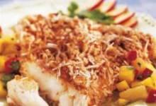 Utokia's Pecan Coconut Crusted Fish