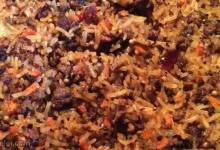 uzbek plov (lamb and rice pilaf)