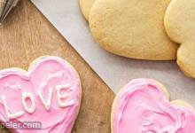 Valentine Conversation Heart Cookies