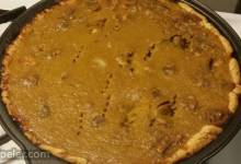 Vanilla Walnut Pumpkin Pie