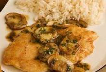 Veal or Chicken Marsala