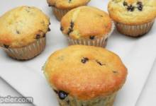Vegan Blueberry Muffins with Applesauce