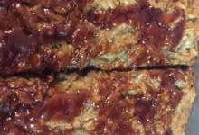 vegan lentil loaf with greek flavors