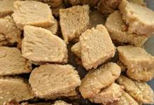 vegan tahini shortbread cookies