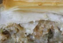 vegetable filo pie