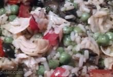 Vegetable Wild Rice Salad