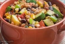 Vegetarian Farro Skillet
