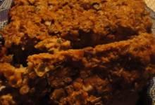 vegetarian meatless meatloaf with lentils