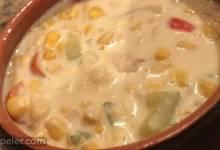 Vegetarian Slow Cooker Corn Chowder