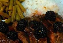 Venison with Blackberry Wine Sauce