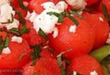 Watermelon, Feta and Cashew Salad