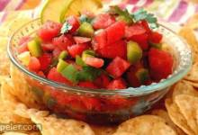 Watermelon Fire and ce Salsa