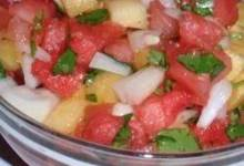 Watermelon Pineapple Salsa
