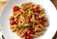 weeknight bbq chicken and pasta