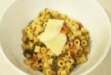Wendy's Quick Pasta and Lentils