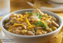 White Chili with Chicken & Corn