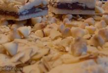 White Chocolate Hazelnut Spread Bars