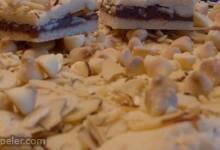 White Chocolate Hazelnut Spread Bars