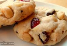 White Chocolate Macadamia Cranberry Dreams