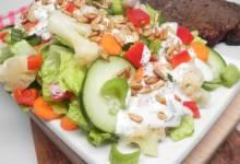 whole plant chopped salad