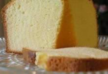 yellow pound cake