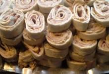 zesty tortilla roll ups