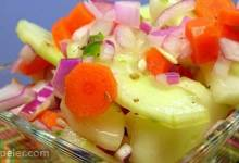 Zippy Cucumber Salad