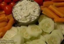 Zucchini Chive Dip