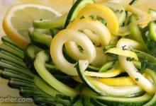 Zucchini Mint Salad